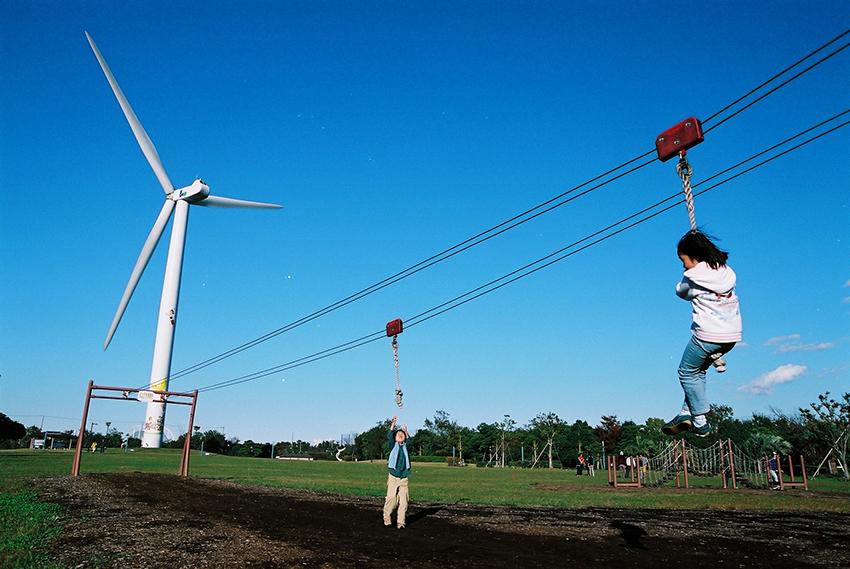 ⑪:風車のある公園