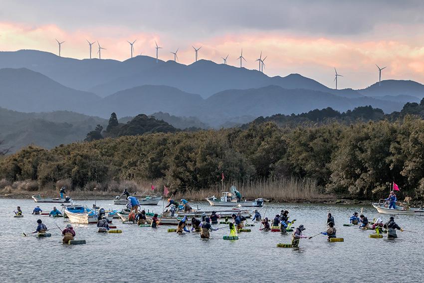 ①:収穫の朝 谷野 和恵 撮影場所:山口県下関市