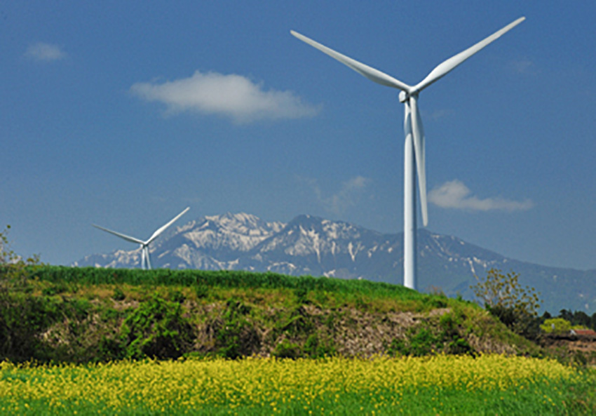 ⑥:ふるさとの春 佐伯 範夫 撮影場所:鳥取県琴浦町