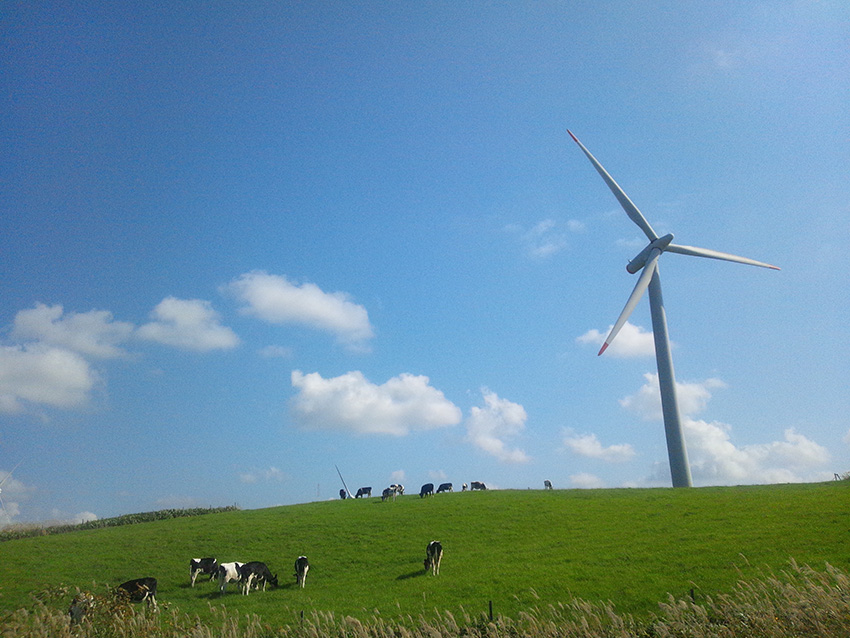 ⑪:風、育む大地 對馬 敦司 北海道苫前郡苫前町