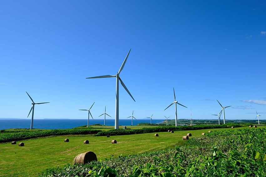 ⑫:風の牧場 川上 幸男 撮影場所:北海道苫前町