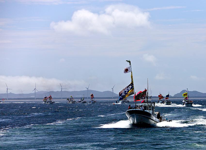 ②:大漁旗船団 玉置 良宗 愛知県知多郡南知多町
