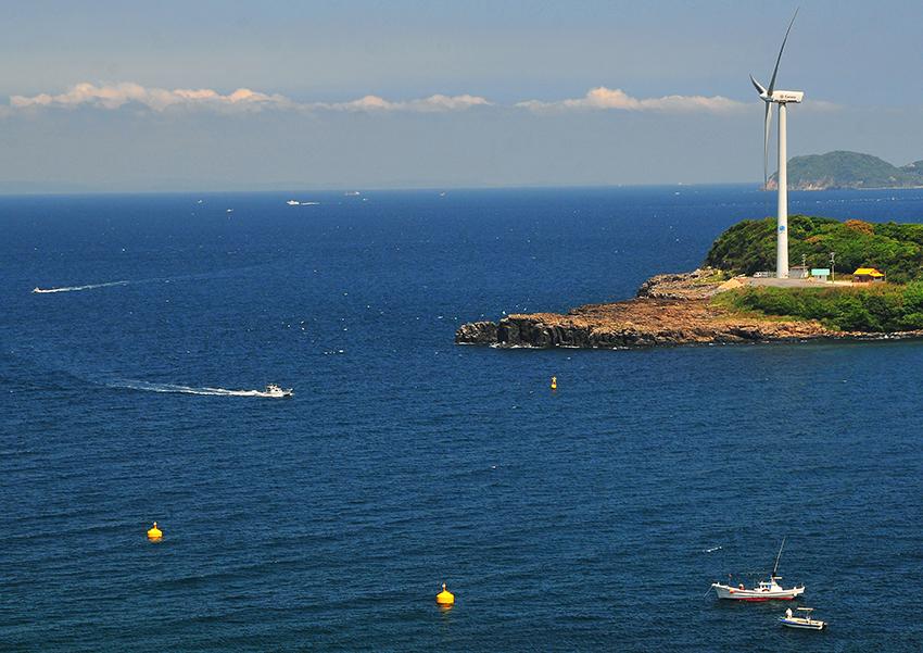 ⑥:岬のシンボル 鹿島 和生 撮影場所:佐賀県松浦郡玄海町