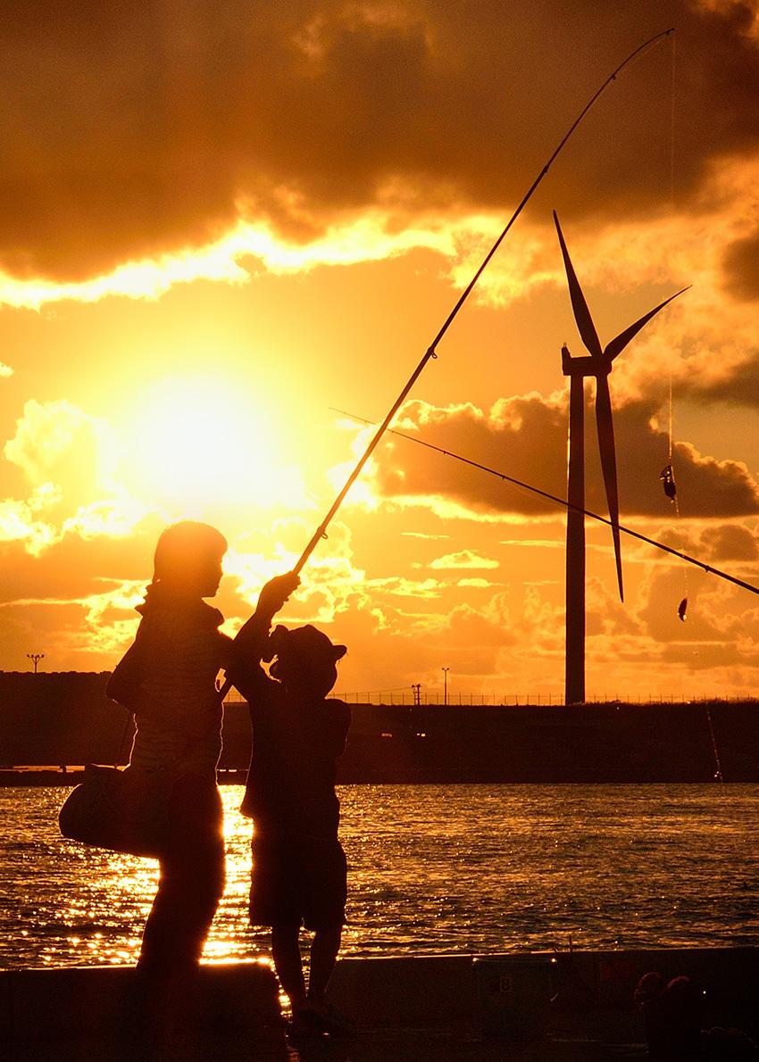 ⑩:風車見える港 山内 佳子 秋田県秋田市