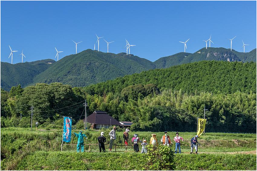 ①:ふるさとの夏 財満 眞千子 撮影場所:山口県下関市