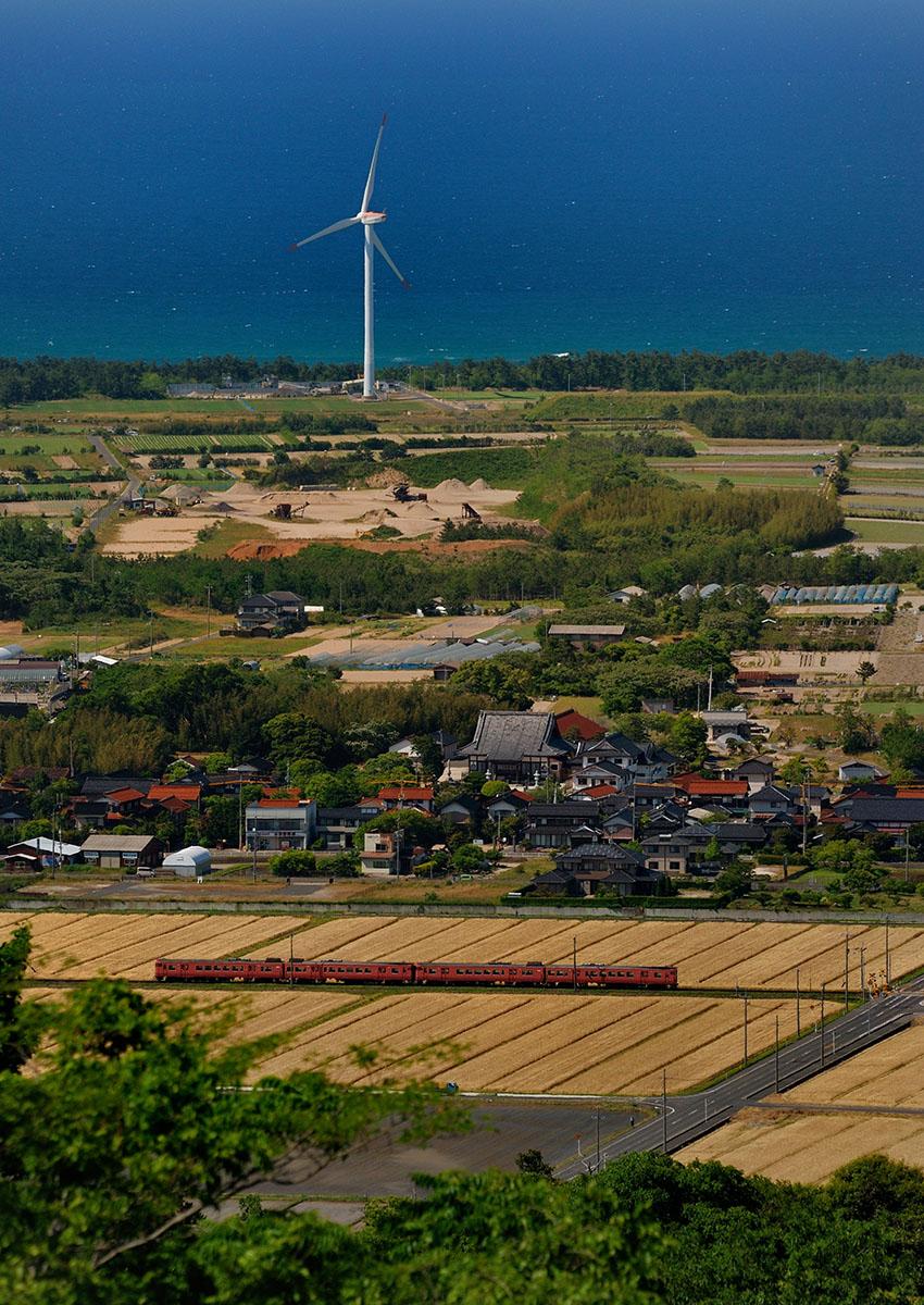 ③:ふるさと展望 佐伯 範夫 撮影場所:鳥取県北栄町