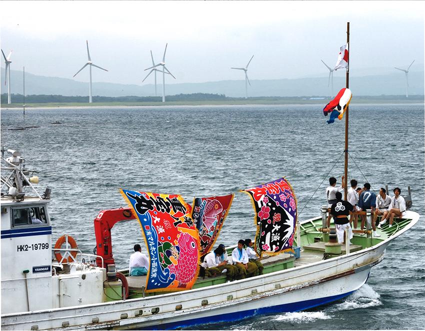 ⑥:祭りの海 北 宏保 撮影場所:北海道寿都町